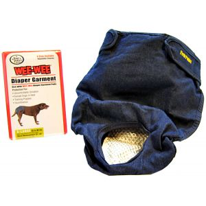 Four Paws Wee Wee Diaper Garment: Extra Large - (Waist 25-34 - 55-90 lbs) #18895 - Dog Diapers and Garments Best Price
