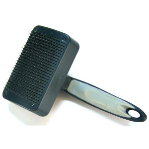 Evolution Self Cleaning Slicker: Medium #W6135 - Dog Grooming Brushes Best Price