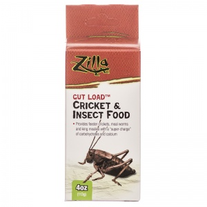 Zilla Gut Load Cricket and Insect Food: 4 oz #096316700260 - Cricket and Insects Food Best Price