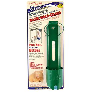 Oasis Basic Hold-Guard for Water Bottles: 8 oz #80052 - Small Pet Feeding Accessories Best Price