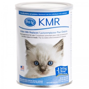 PetAg KMR Milk Powder Replacer for Kittens: 12 oz