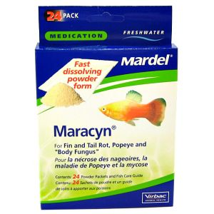 Mardel Maracyn Powder: 8 Pack #1115 - Bacterial and Fungal Aquarium Medications Best Price