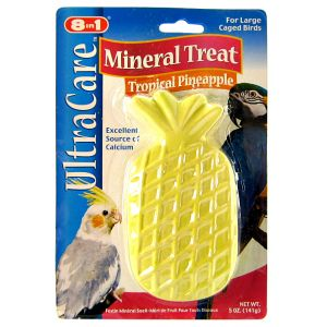 Ultra Care Mineral Treat Tropical Pineapple: 4 oz #A226P - Bird Beak Conditioners Best Price