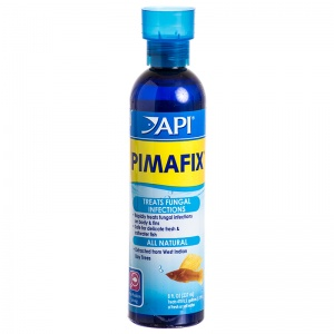 Aquarium Pharmaceuticals Pimafix Antifungal Fish Remedy: 8 oz - (Treats 474 Gallons) #10H - Bacterial and Fungal Aquarium Medications Best Price