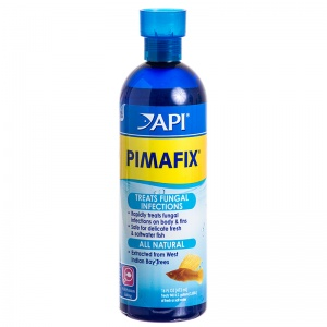 Aquarium Pharmaceuticals Pimafix Antifungal Fish Remedy: 16 oz - (Treats 946 Gallons) #10J - Bacterial and Fungal Aquarium Medications Best Price
