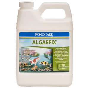 PondCare AlgaeFix Algae Control for Ponds: 32 oz - (Treats 9 800 gallons) #169G - Pond Algae Control Best Price