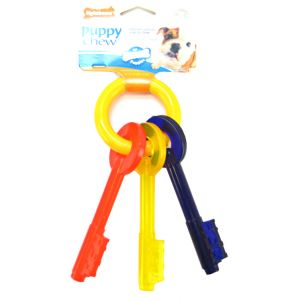 Nylabone Puppy Teething Keys: Small #N220 - Dog Chew Toys Best Price