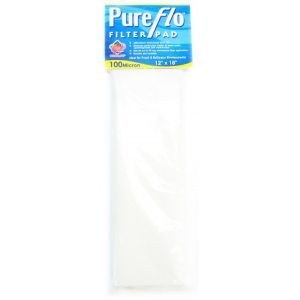 Coralife Pure Flo Filter Pad: 12 x 18 - 100 Micron #1217 - Aquarium Filter Pads Best Price