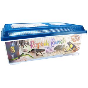 Lees Reptile Ranch: Rectangle Large #20055 - Reptile Cages and Terrariums Best Price