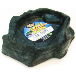 Zoo Med Repti-Rock Reptile Rock Dish: Extra Small #WD10 - Reptile Food Bowls Best Price