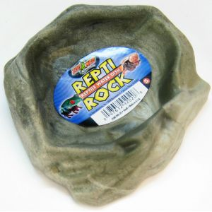 Zoo Med Repti-Rock Reptile Rock Dish: Small #WD20 - Reptile Food Bowls Best Price