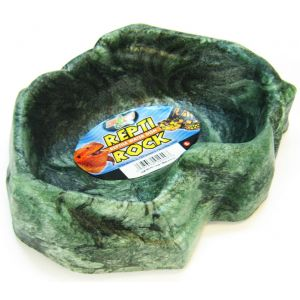 Zoo Med Repti-Rock Reptile Rock Dish: Large #WD40 - Reptile Food Bowls Best Price