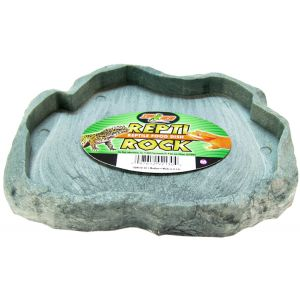 Zoo Med Repti Rock Food Dish: Medium #FD30 - Reptile Food Bowls Best Price