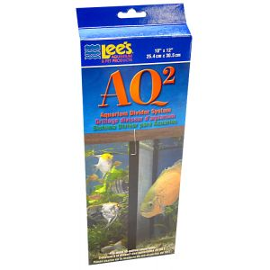 Lees AQ2 Aquarium Divider System: 10 Gallon - (9.625 x 11.25) #10600 - Fish Breeding Tanks