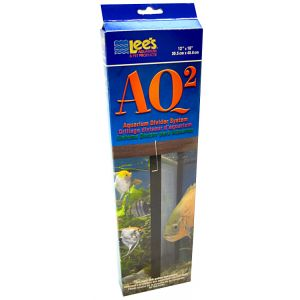 Lees AQ2 Aquarium Divider System: 20 Gallon Tall - (11.25 x 15.5) #10610 - Fish Breeding Tanks Best Price