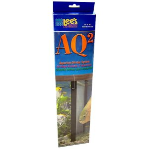 Lees AQ2 Aquarium Divider System: 29 to 55 Gallon - (11.25 x 17.5) #10615 - Fish Breeding Tanks Best Price