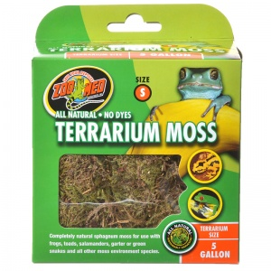 Zoo Med All Natural Terrarium Moss: 5 Gallon #CF2S - Reptile Terrarium Plants Best Price