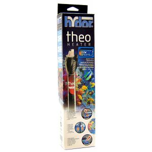 Hydor Theo Shatter-Proof Submersible Heater: 150 Watt - 12 Long - (23 - 40 Gallons) #T11602 - Aquarium Heaters Best Price