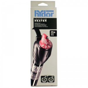 Hydor Theo Shatter-Proof Submersible Heater: 25 Watt - 6.9 Long - (2 - 7 Gallons) #T11702 - Aquarium Heaters Best Price