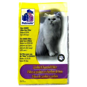Petmate Zeolite Filter: Jumbo - 1 Pack #29379 - Cat Pan Liners and Filters Best Price