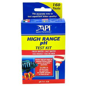 Aquarium Pharmaceuticals PH High Range Test Kit #27 - Aquarium Saltwater Test Kits Best Price