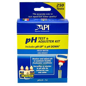 Aquarium Pharmaceuticals pH Test and Adjuster Kit: pH Test and Adjuster Kit - (250 Tests) #29A - Aquarium Saltwater Test Kits Best Price