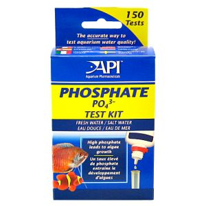 Aquarium Pharmaceuticals Phosphate Test Kit (150) Liquid #63L - Aquarium Saltwater Test Kits Best Price
