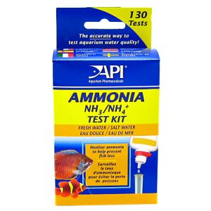 Aquarium Pharmaceuticals Ammonia Test Kit Fresh And Salt Water #LR8600 - Aquarium Saltwater Test Kits Best Price
