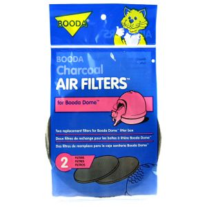 Booda Dome Charcoal Air Filters - 2 Pack: 2 Pack #50310 - Cat Pan Liners and Filters