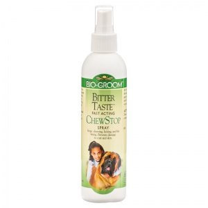 Bio Groom Bitter Taste Anti Chew Spray 8 oz - Dog Repellant Best Price