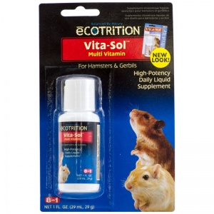 8 in 1 Pet Products Vitasol Multi-Vitamin For Hamsters: Vitasol For Ha