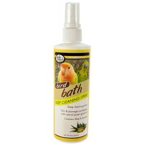 Four Paws Feather Brite Bath Spray 8oz #17230 - Bird Bath Spray Best Price