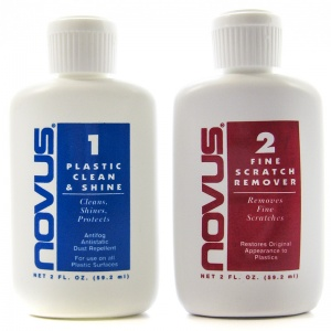 Novus Acrylic Polish #1 & #2 Kit - 2 oz / each: Acrylic Polish #1 &