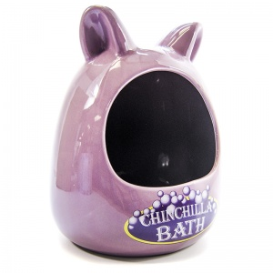 Super Pet Ceramic Chinchilla Bath
