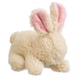 Spot Vermont Style Fleecy Dog Toy Rabbit: Fleece Chew Rabbit 9 #5024 - Squeaky Dog Toys Best Price