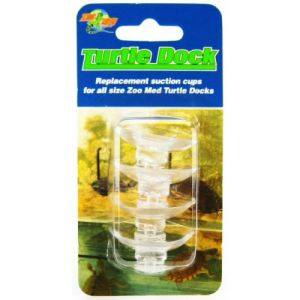 Zoo Med Turtle Dock Suction Cups - 4 Pack - Reptile Basking Platforms Best Price