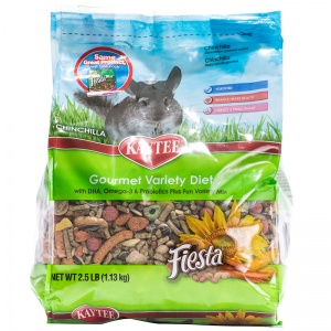 Fiesta Kaytee Chinchilla: 2.5 lbs #100032285 - Chinchilla Food Best Price