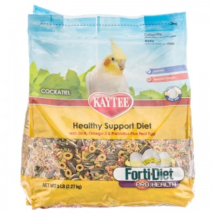 Forti-Diet Egg-Cite! Cockatiel: 5 lbs #100032242 - Cockatiel Food Best Price