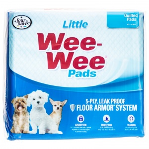 Four Paws Wee Wee Pads for Little Dogs - (16.5 x 23.5) - Dog Housetraining Aids Best Price