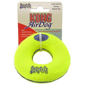 Kong Air Dog Air Kong Donut Squeaker: Small #ASD3 - Toss and Fetch Dog Toys Best Price