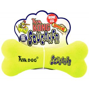 Kong Air Dog Air Kong Bone Squeaker: Large 9 #ASB7 - Toss and Fetch Dog Toys Best Price