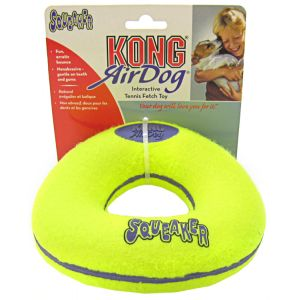 Kong Air Dog Air Kong Donut Squeaker: Large #ASD1 - Toss and Fetch Dog Toys Best Price