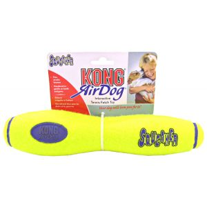 Kong Air Stick Squeaker - Large: Large 11 #ASST1 - Toss and Fetch Dog Toys Best Price