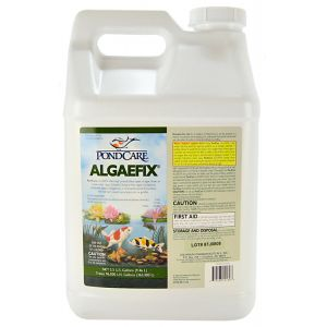 PondCare AlgaeFix Algae Control for Ponds: 2.5 Gallon - (Treats 96 000 gallons) #169J - Pond Algae Control Best Price