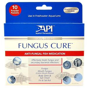 Aquarium Pharmaceuticals Fungus Cure Powder - Bacterial and Fungal Aquarium Medications Best Price
