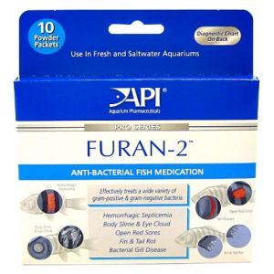 Aquarium Pharmaceuticals Furan-2 Powder - Bacterial and Fungal Aquarium Medications Best Price