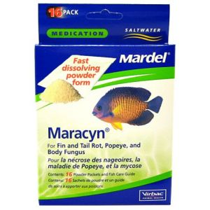 Mardel Maracyn Saltwater Powder - Bacterial and Fungal Aquarium Medications Best Price