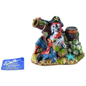 Blue Ribbon Pet Products Pirate's Cannon Pirate Island Bubbler (5