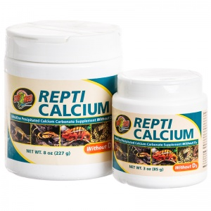 Zoo Med Repti Calcium without D3 - Reptile Food Supplements Best Price