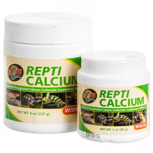 Zoo Med Repti Calcium with D3 - Reptile Food Supplements Best Price